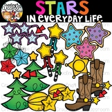 Stars in Everyday Life Clipart {Stars in real life Clipart}