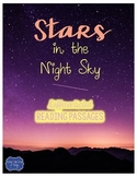 Stars in the Night Sky {Differentiated Close Reading Passages & Questions}