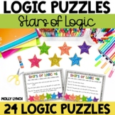 Stars of Logic Problem Solving {Logic Puzzles}