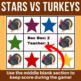 Stars vs Turkeys | Student vs Teacher Game for Online ESL Teachers | VIPKid FAS