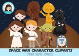 Stars war birthday cliparts