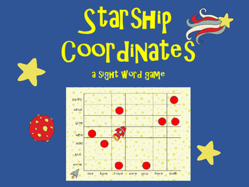 Starship Coordinates: A Sight Word Game