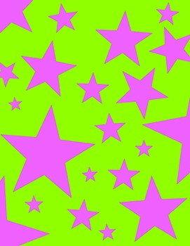 Digital Background Papers - Stars
