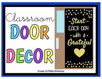 Start EACH DAY with a Grateful Heart (Door Decor/Bulletin Board Kit)