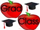 Year End or Back To School With Grad Apple Picture Frame A