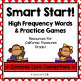 Start Smart! Grade 1 Sight Words & Games {Treasures}
