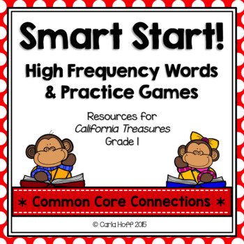 Start Smart! Grade 1 Sight Words & Games {Treasures}