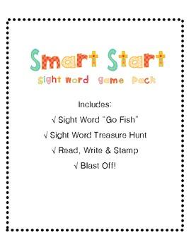 Treasures Smart Start Game Pack ( 4 games)