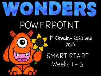 Start Smart, Wonders, 1st Grade, First Three Weeks, Interactive PowerPoints
