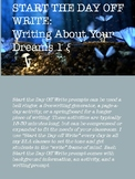 Start The Day Off Write: Writing About Your Dreams 1