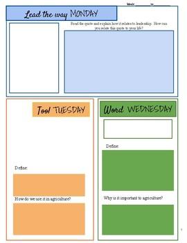 Start Up Printable Worksheet