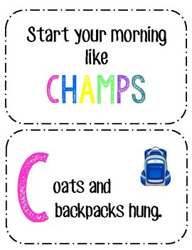 Start Your Day Like Champs