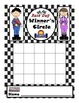 Start Your Engines Number Fluency Kit with Bulletin Board & Charts