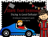 Start Your Engines! Racing To Great Behavior! {A classroom management pack}