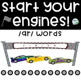 Vowel Combination /ar/ Game - Start Your Engines