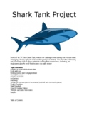 """""""Shark Tank"""" Business Project and Presentation"""