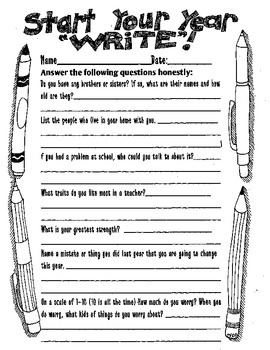 "Start Your Year ""Write"""