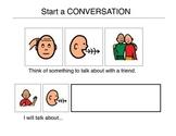 Start a Conversation - Autism VISUAL