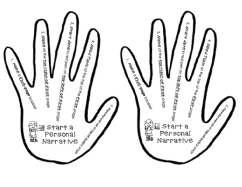 Start a Personal Narrative Helping Hand