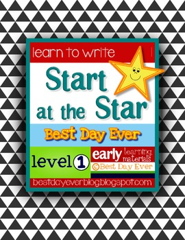 Start at the Star Level 1 Early Writing