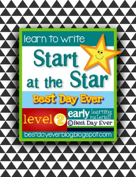 Start at the Star Level 2 Early Writing