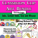 Start of School Clip Art Bundle