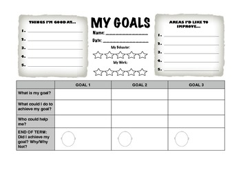 Start of Term Goal Sheet