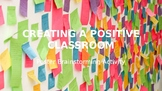 Start of Year Class Post-It Note Brainstorming Activity