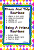 Start of Year Routines