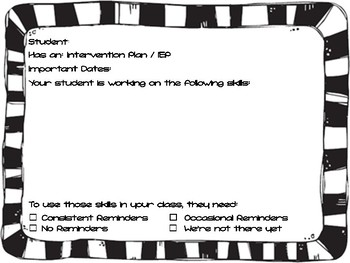 Start of Year Student Summaries for Teachers