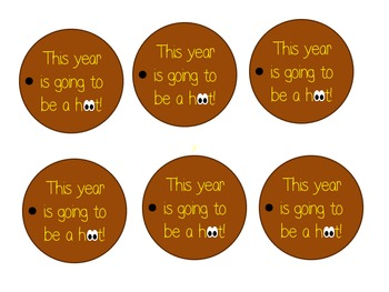 Beginning of the school year label