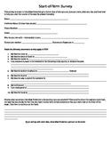 Start-of-term Student Survey
