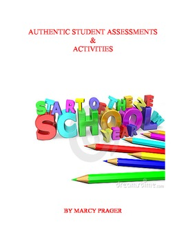 Back to School - Activities and Authentic Assessments