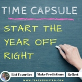 Start of the School Year Time Capsule