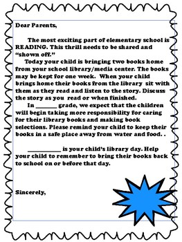 Start of the Year-Library Media Center:Letters, Guides, Apps, and Web 2.0