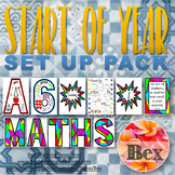 Start of the Year Set Up Pack