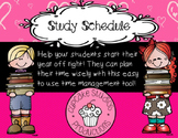 Start the Year Off Right with a well planned Study Schedule!