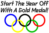 Start the year off with a gold medal poster