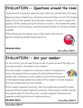 Start-to-Finish: 15 Engagement and 15 Evaluation Ideas for the Busy Teacher