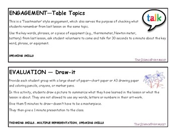 Start-to-Finish: Engagement and Evaluation ideas for any lesson