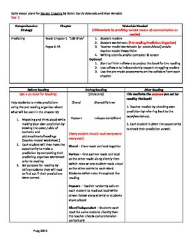 Start-to-Finish Guided Reading Lesson Plans for Border Crossing