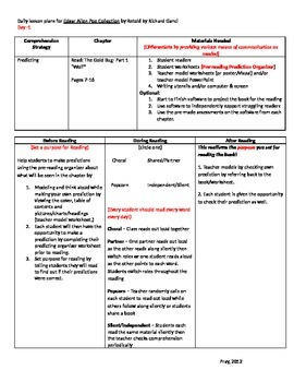 Start-to-Finish Lesson Plans for Guided Reading Edgar Allen Poe Collection