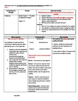 Start-to-Finish Lesson Plans for Guided Reading For Liberty