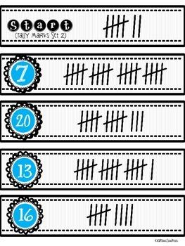 • Start to Finish Math Games: Tally Marks •