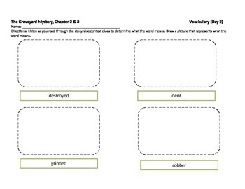 Start-to-Finish Student WS for Guided Reading The Graveyard Mystery