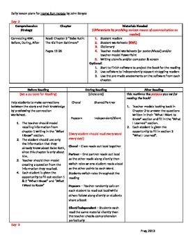 Start-to-Finish Teacher Lesson Plans for Guided Reading for Home Run Heroes