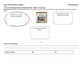 Start-to-Finish Teacher WS for Guided Reading The Crossbow Mystery (Yellowstone)