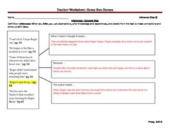 Start-to-Finish Teacher WS for Guided Reading for Home Run Heroes