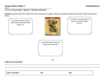 Start-to-Finish Treasure Island Student Worksheets