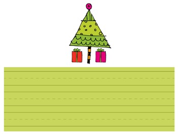 Start with a Sentence (Santa Style) FREEBIE